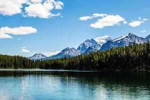 View of Rocky Mountains in Alberta, Canada, AINP, PNP