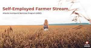 AINP - Self-Employed Farmer stream