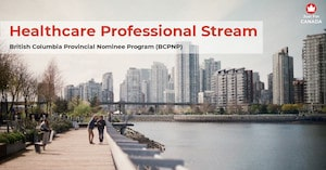 BCPNP - Healthcare Professional stream