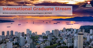 BCPNP - International Graduate stream