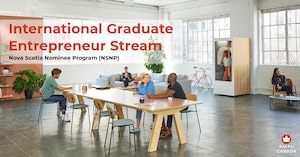 NSNP - International Graduate Entrepreneur stream