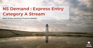 NSNP - NS Demand: Express Entry Category A stream