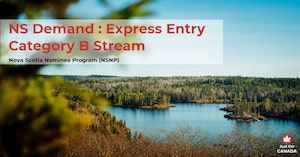 NSNP - NS Demand: Express Entry Category B stream