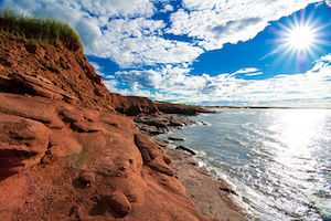 View of Prince Edward Island, Canada, PEIPNP
