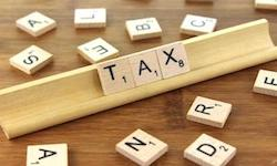 Canada Tax Scrabble letters for Canadian sales taxes