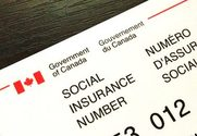 Photo of Canadian Social Insurance Number (SIN)