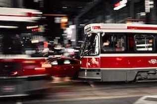 View of Public Transportation in Toronto, Ontario, Canada thanks to our Ultimate City Guide